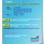 Program Penyusuan di bulan Ramadhan @ Wangsa Maju