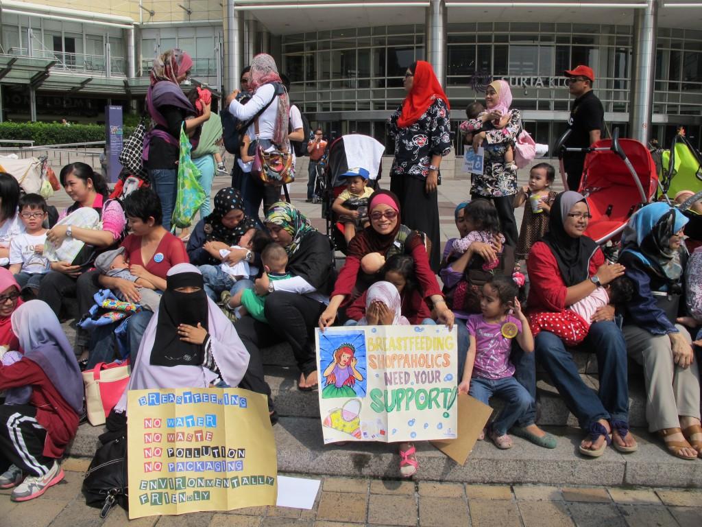 KL BF Flash Mob 2012 (closeup)