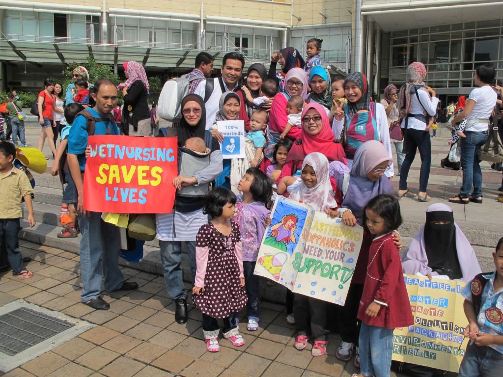 KL Breastfeeding Flash Mob 2012 - SusuIbu + MbfPC