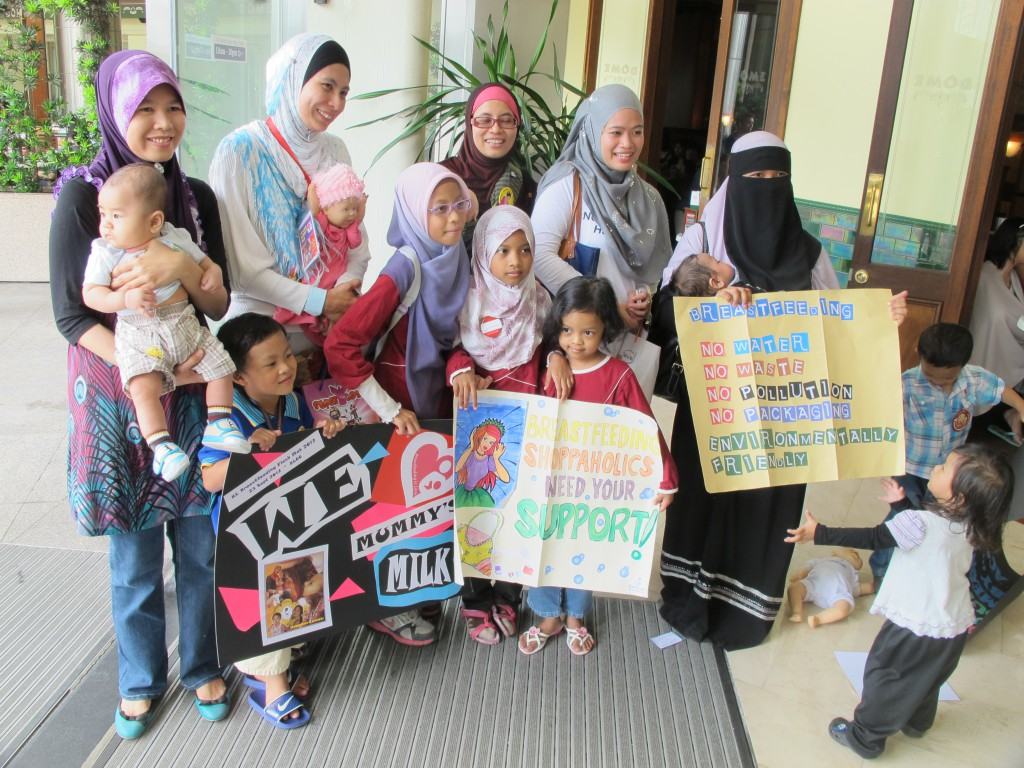 KL Breastfeeding Flash Mob 2012 - with Ayuni