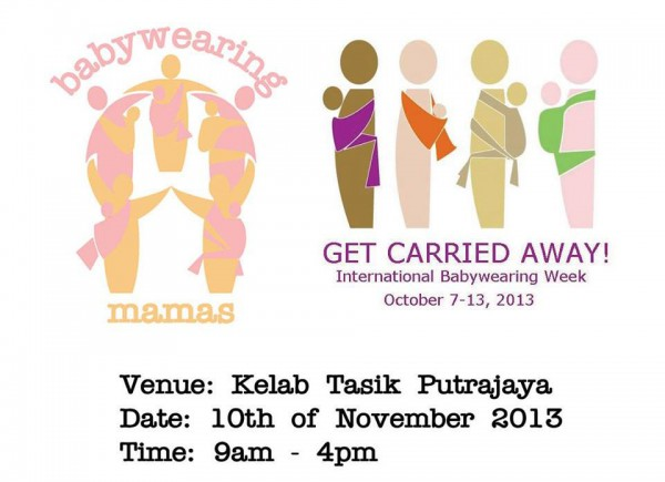International Babywearing Week 2013 BWM Malaysia