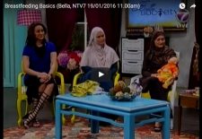 Breastfeeding Basics (Bella, NTV7 19/01/2016 11.00am)