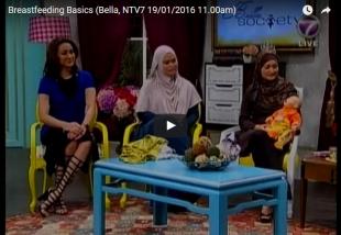 Breastfeeding Basics (Bella, NTV7 19/01/2016 11.00am)